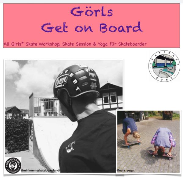 Girls get on Board Workshop