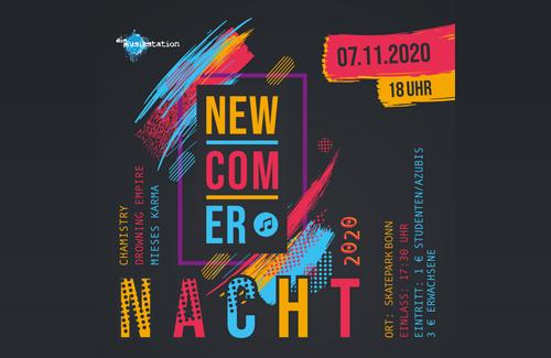 Skatepark-Bonn-Newcomer-Nacht-Band-Titelbild